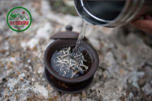 Pha bạch trà shan tuyết