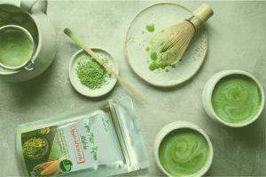 Lợi ích của bột trà xanh