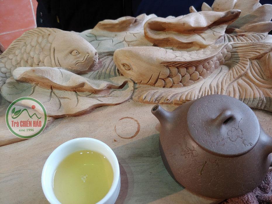 Pha trà shan tuyết